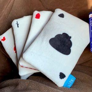 Barkbox card deck Dog Toy magician crinkle squeak